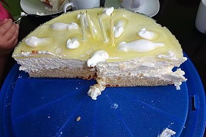 Einfache Zitronen - Joghurt - Torte 93