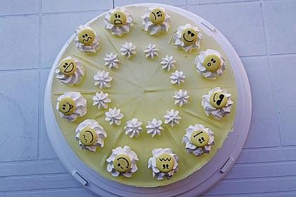 Einfache Zitronen - Joghurt - Torte 8