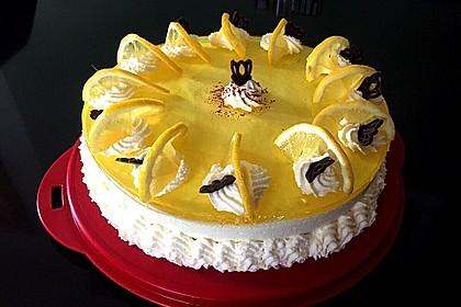 Einfache Zitronen - Joghurt - Torte 4