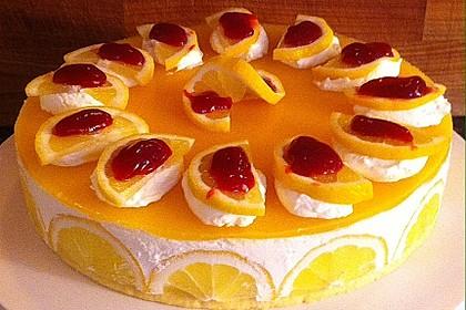 Einfache Zitronen - Joghurt - Torte 20
