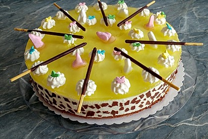 Einfache Zitronen - Joghurt - Torte 9