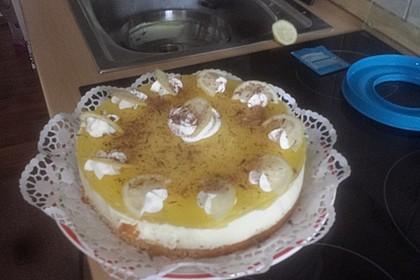 Einfache Zitronen - Joghurt - Torte 98