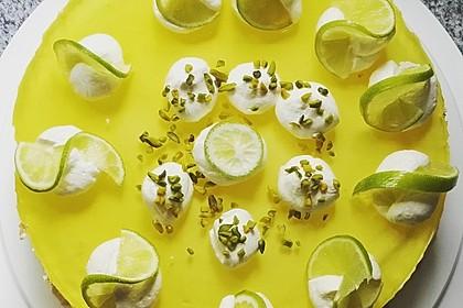 Einfache Zitronen - Joghurt - Torte 6