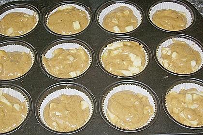 Apfel Cupcakes 17