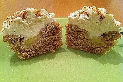 Apfel Cupcakes 8