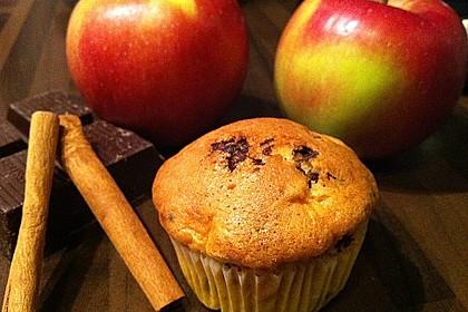 Apfel Cupcakes 1