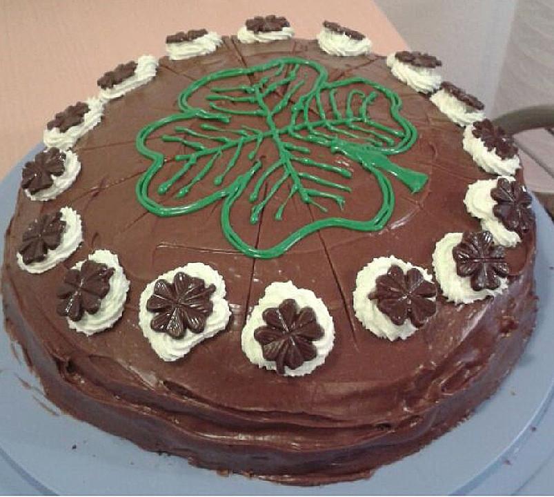 Elegant Irischer Schoko   Schock   Kuchen Mit Guiness (Rezept Mit .