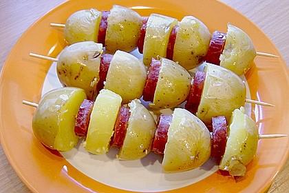 Spanische Kartoffelspieße 8