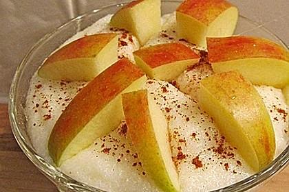 Apfel - Zimt - Grießkoch 1