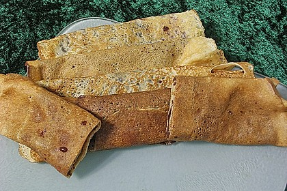 Überbackene Schinken - Käse - Crepes 4