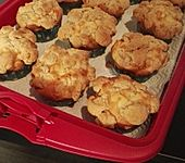 Leckere Apfel - Streusel - Muffins