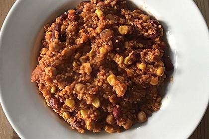 Vegetarisches Chili mit Bulgur 5