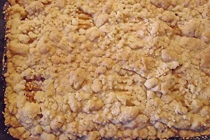 Apfelstreuselkuchen mit Calvados 2