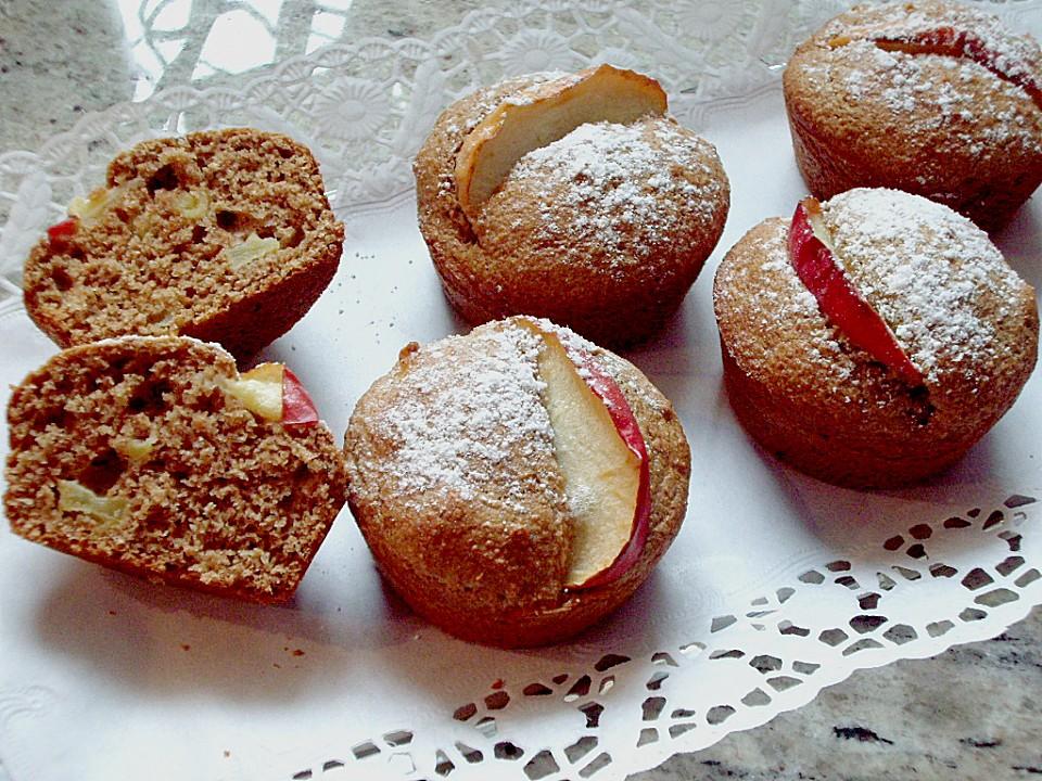 apfel muffins mit ahornsirup von s fuechsle. Black Bedroom Furniture Sets. Home Design Ideas