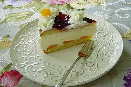 Käse - Sahne - Torte 8