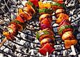 Schaschlik vegetarisch