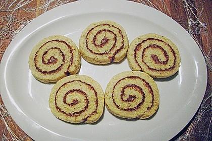 Schokoladen - Haselnusscreme - Spiralen 7