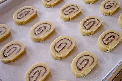 Schokoladen - Haselnusscreme - Spiralen 29