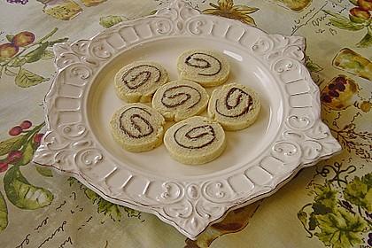 Schokoladen - Haselnusscreme - Spiralen 16