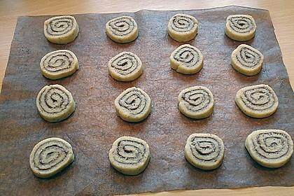 Schokoladen - Haselnusscreme - Spiralen 28