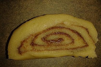 Schokoladen - Haselnusscreme - Spiralen 41