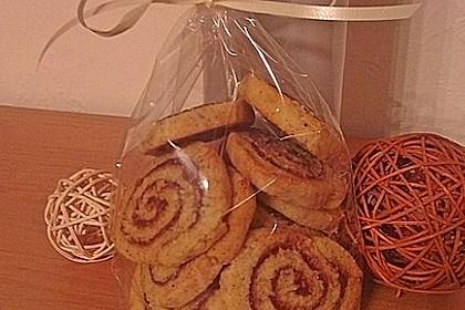 Schokoladen - Haselnusscreme - Spiralen 26