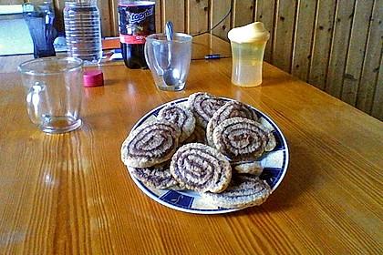 Schokoladen - Haselnusscreme - Spiralen 39
