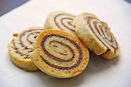 Schokoladen - Haselnusscreme - Spiralen 3