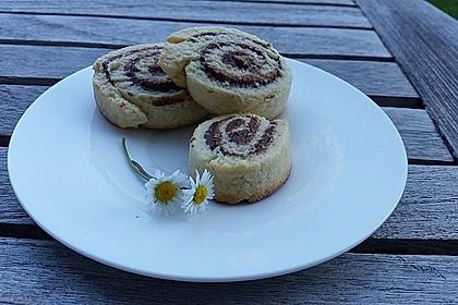 Schokoladen - Haselnusscreme - Spiralen 14