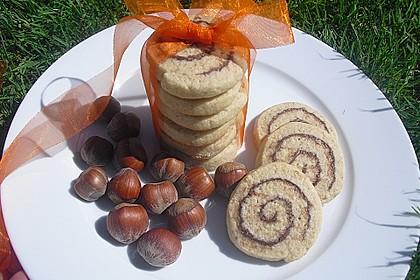 Schokoladen - Haselnusscreme - Spiralen 4