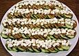 Gurkensalat mit Schafskäse und Knoblauch