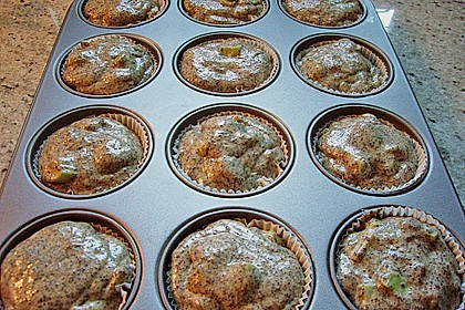 Rhabarber - Mohn - Muffins 10