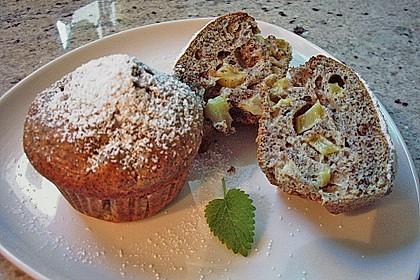 Rhabarber - Mohn - Muffins 2