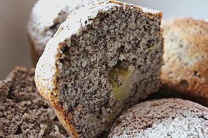 Rhabarber - Mohn - Muffins 3