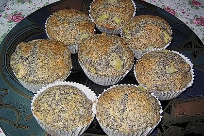 Rhabarber - Mohn - Muffins 6
