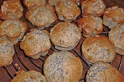 Rhabarber - Mohn - Muffins 5