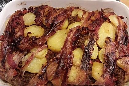 Kartoffel - Hack - Auflauf mit Speckkruste 9