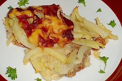Kartoffel - Hack - Auflauf mit Speckkruste 31