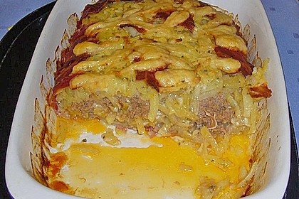 Kartoffel - Hack - Auflauf mit Speckkruste 37