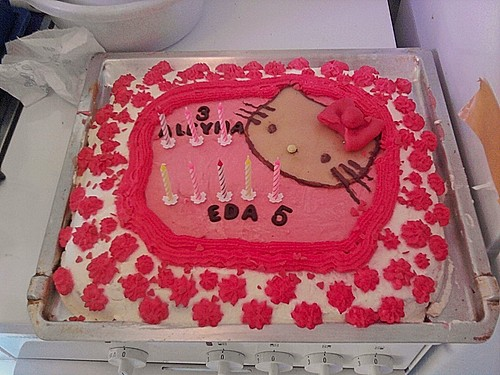 Hello Kitty Torte 1