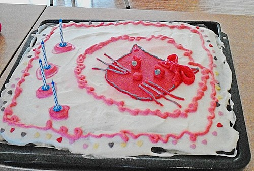 Hello Kitty Torte 2