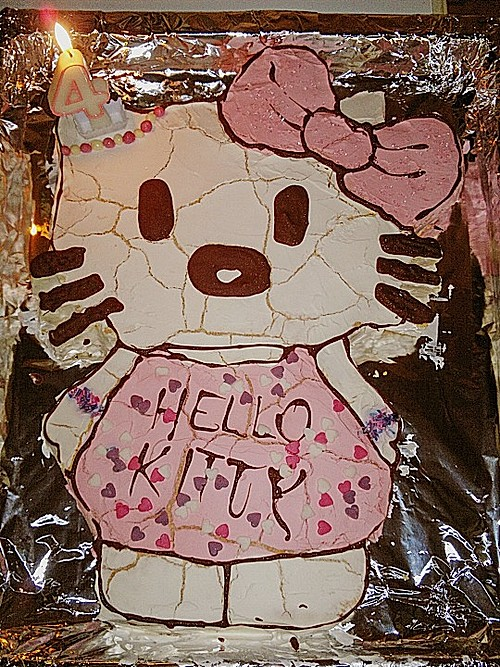Hello Kitty Torte 5