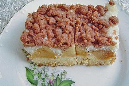 Brisanes Apfel - Kokos - Kuchen 1