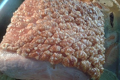 Krustenbraten vom Schwein mit extra krosser Kruste 34