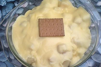 Tutti-Frutti Pudding-Früchte Dessert mit Butterkeksen 1