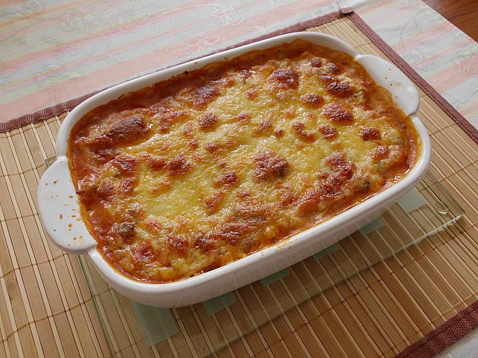 vegetarische lasagne rezept mit bild von geega. Black Bedroom Furniture Sets. Home Design Ideas