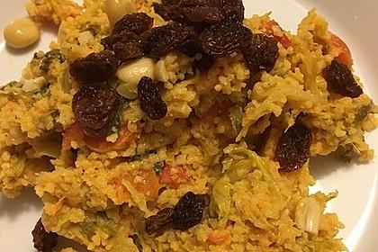 Aegis Chinakohl mit Couscous aus der Pfanne 10