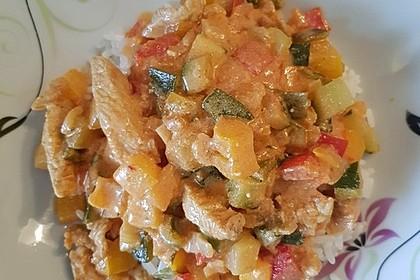 Puten - Gemüse - Pfanne mit Feta 23