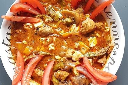 Puten - Gemüse - Pfanne mit Feta 21