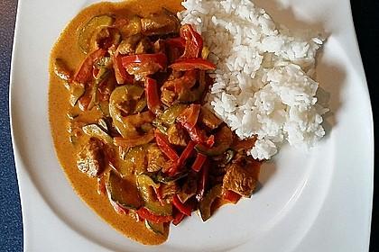 Puten - Gemüse - Pfanne mit Feta